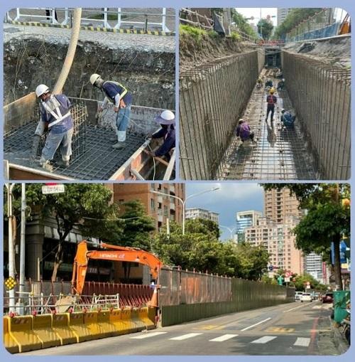 輕軌施工全面啟動,交維措施亦見成效