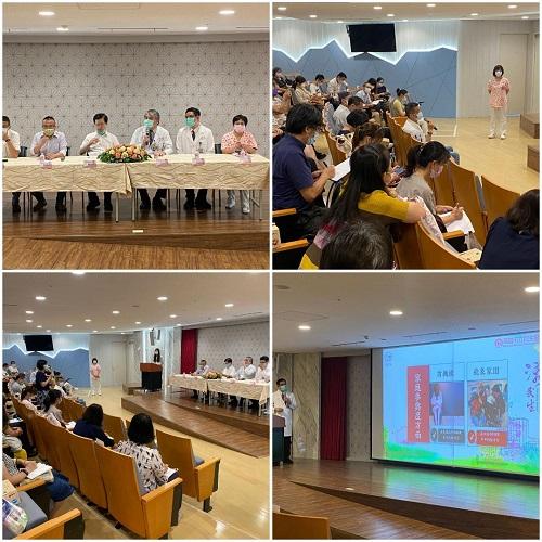 台北市政府參訪高雄市立民生醫院經營住宿式長照機構